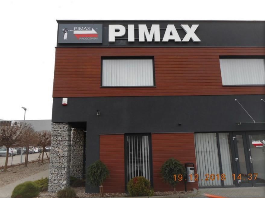 litery 3d przesrzenne świetlne pimax